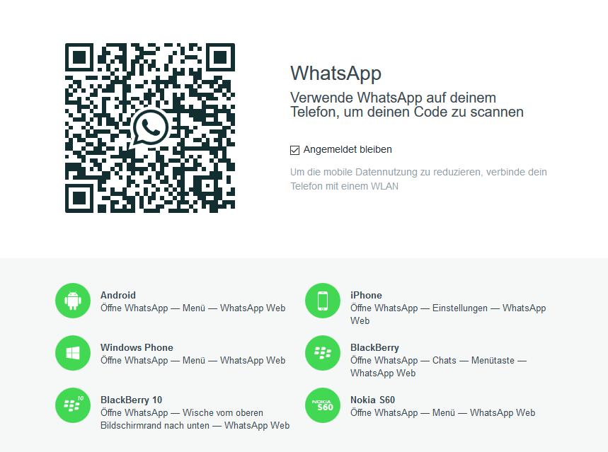 WhatsApp Web - QR-Code