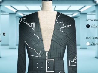 Data Dress vom Google und H&M