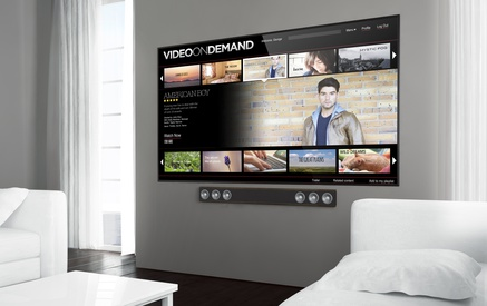 Video on Demand auf den Smart TV
