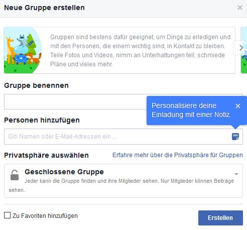 Gruppe Erstellen Facebook