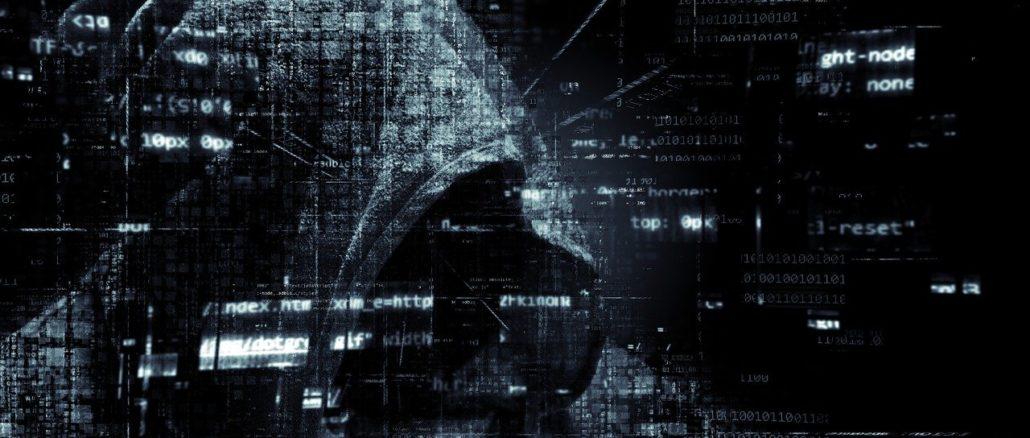 hacker vermummt